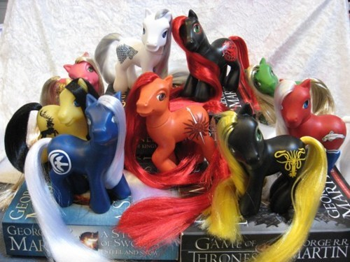my little ponies,custom,Game of Thrones