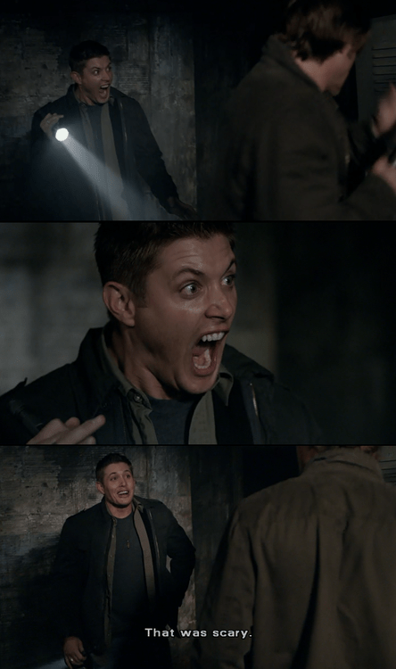 Supernatural reaction faces scary - 6696514048