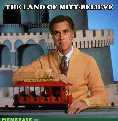 mr rogers Romney politics debate - 6696936192