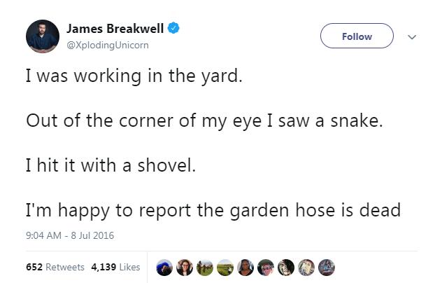 tweets snakes funny tweets animal tweets - 6697221