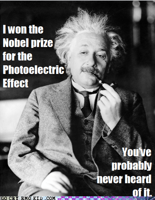 hipster,einstein,science,nobel prize,photoelectric effect