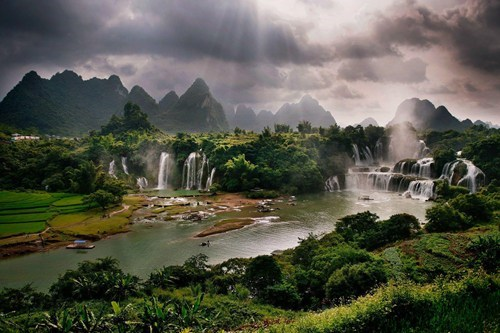 guangxi China landscape magical