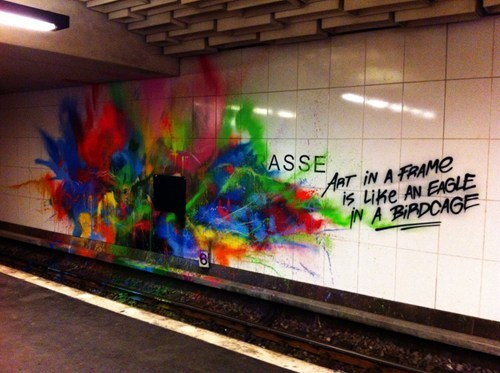 hacked irl,Street Art,graffiti,pretty colors