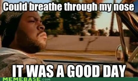 it was a good day,breathe,nose,ice cube,FRIDAY