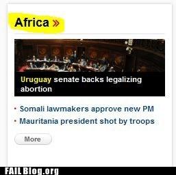 africa news atlas globe continent - 6698458624