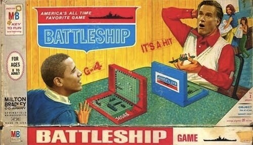 battleship election 2012 Romney obama presidential debate