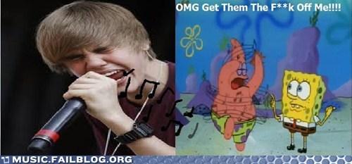 justin bieber SpongeBob SquarePants