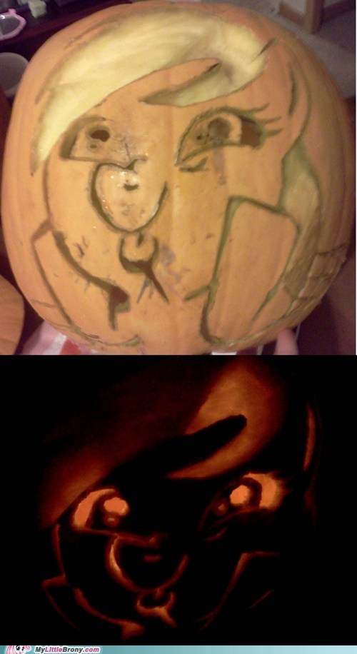 pumpkin carving cute awesome why wub woo - 6698619904