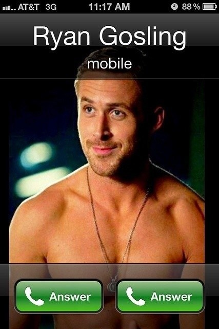 Ryan Gosling,answer,always,calling