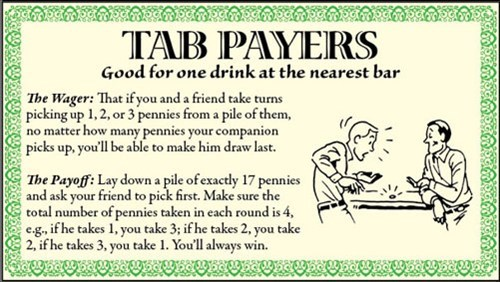 tab payers,wager,payoff,pranked