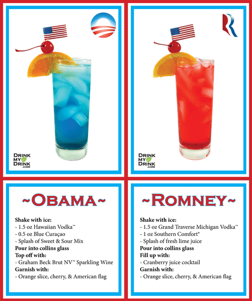 politics obama Romney Early Morning Happy Hour president - 6698714880