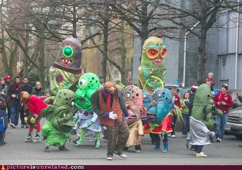 parade,lsd,monster,costume