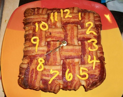 bacon clock - 6698850304