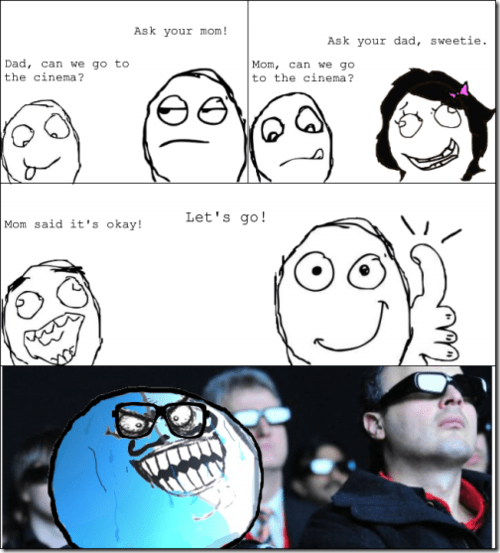Rage Comics,movies,ask your mother