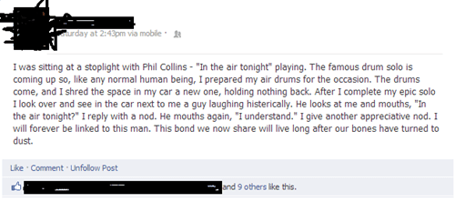 Phil Collins drumming in the air tonight - 6698883584