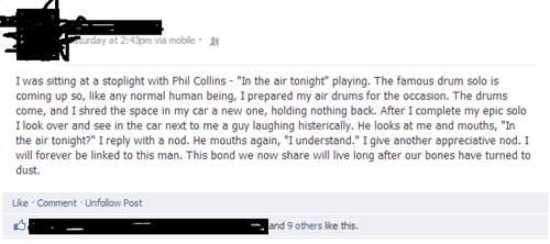 Phil Collins drumming - 6698883584