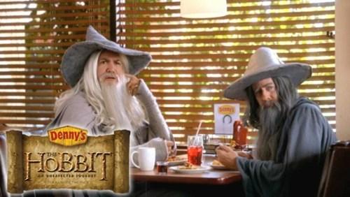 The Hobbit dennys menu marketing - 6698930944