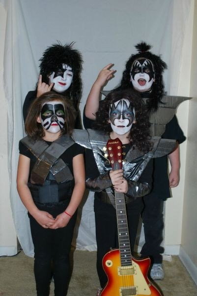 childrens-costumes halloween costumes KISS