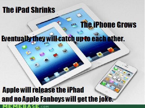 ipad apple fanboys joke iphone - 6698960384