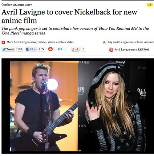 nickelback avril lavigne