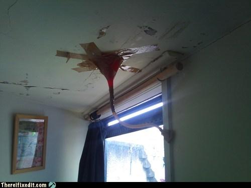 leak funnel roof leaky roof - 6699289088