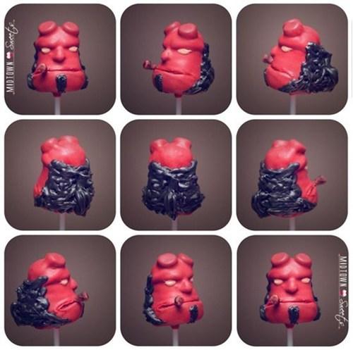 cake pops hellboy - 6699465472