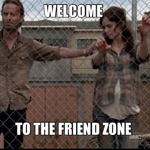no room for love friend zone The Walking Dead lori Rick Grimes - 6699662336