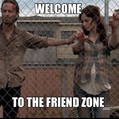 no room for love friend zone The Walking Dead lori Rick Grimes - 6699662336
