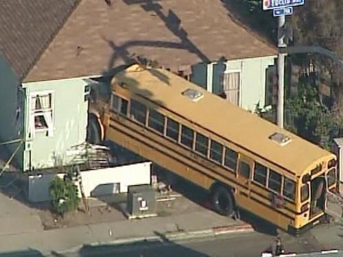 school whoops cars driving crash bus - 6699816960