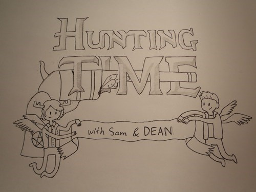 Supernatural crossover adventure time Fan Art - 6700413184