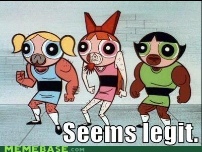 blossom,seems legit,powerpuff girls,buttercup is the best