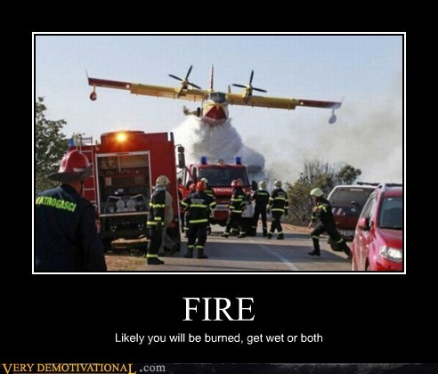 fire,airplane,wet,dry