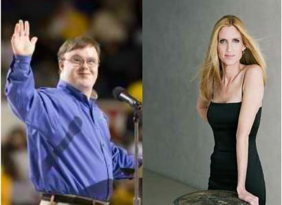 Ann Coulter retard special olympics - 6701488384