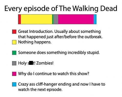 The Walking Dead,TV,introduction,zombie,cliff hanger
