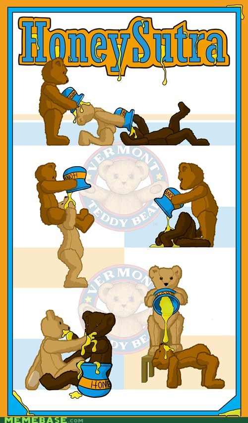 sutra Ruined Childhood teddy bears honey sticky - 6701615616
