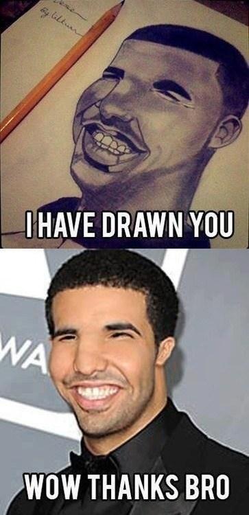 Drake drawing - 6701629696
