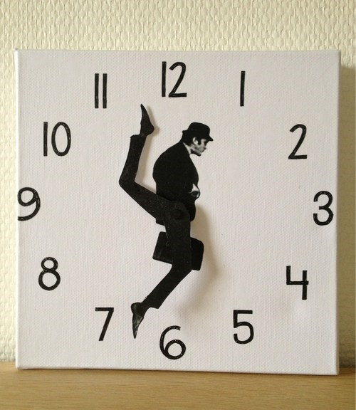 ministry of silly walks monty python clock - 6701688576