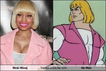 funny TLL celeb Music TV animation nicki minaj he man - 6701750528