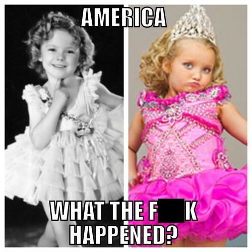 honey boo-boo,shirley,then vs now