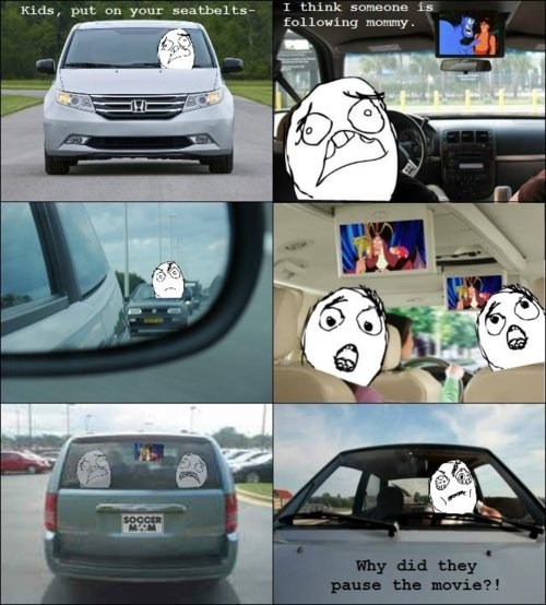 Rage Comics aladdin car driving Movie