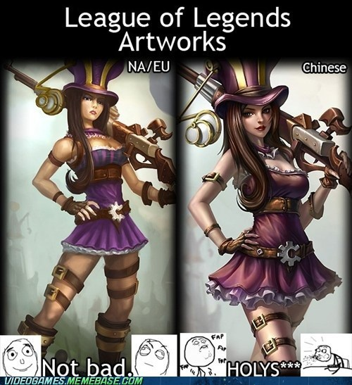 league of legends art wowza fap fap fap