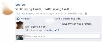 facebook,wish,will
