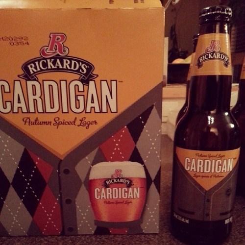 cardigan beer,sweater,better