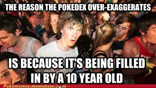 sudden clarity clarence pokedex meme - 6702354688