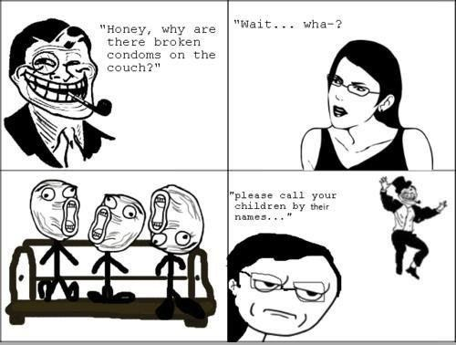 Rage Comics children accidents