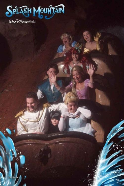 log ride,splash mountain,disney princesses