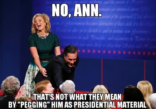 Ann Romney Mitt Romney stahp confused Awkward pose pegging not what it means - 6702772736