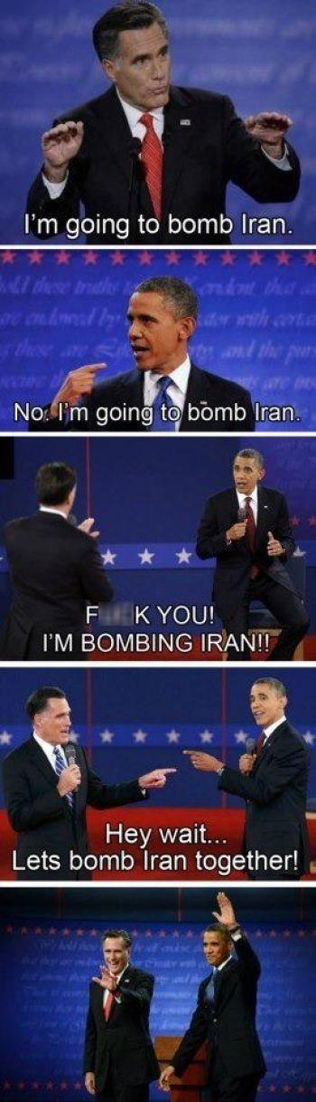iran foreign policy debate agree Mitt Romney barack obama - 6702842624