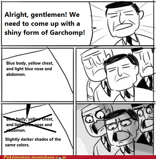 garchomp shiny meme - 6703226624