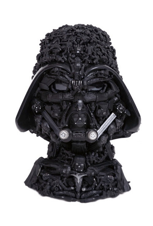 darth vader star wars nerdgasm toys bust sculpture - 6703269376